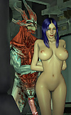 Monster and woman sex games