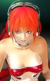Hot 3D hentai redhead babe adventures